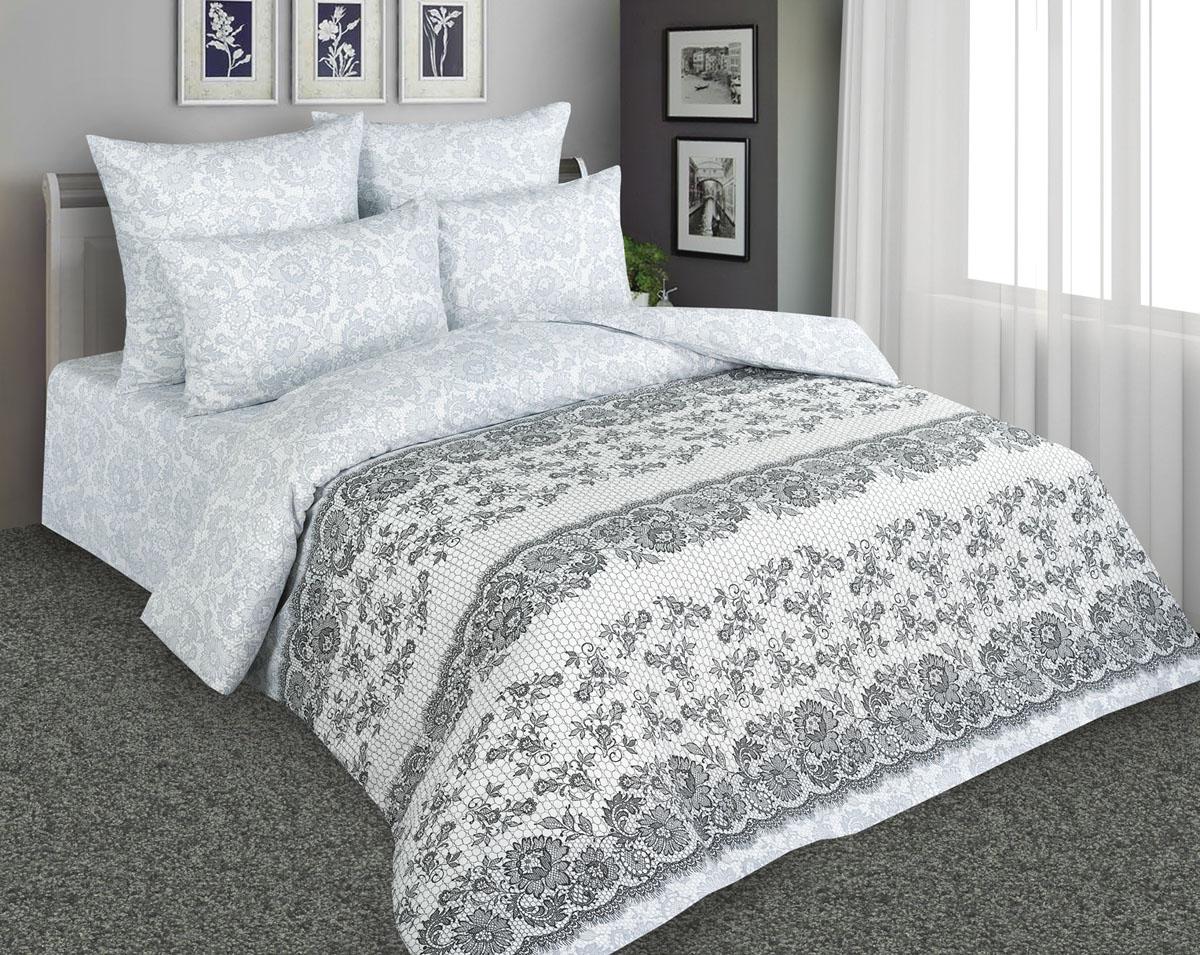 Комплект постельного белья Amore Mio, евро, наволочки 70х70, цвет: серый. 8988489884Постельное белье Amore Mio из перкали - эксклюзивные дизайны, разработанные европейскими дизайнерами, воплощенные на плотной легкой ткани из 100% хлопка.