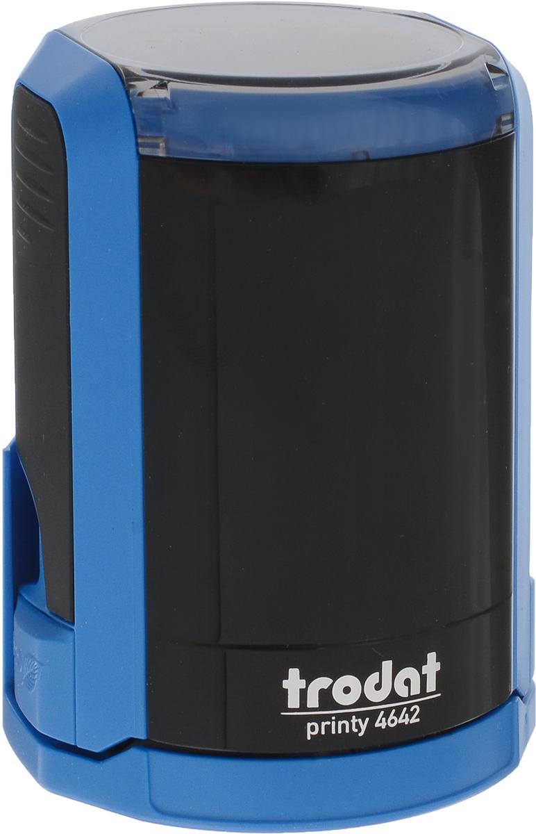 Trodat Оснастка для печати автоматическая Printy цвет синий черный 42 мм