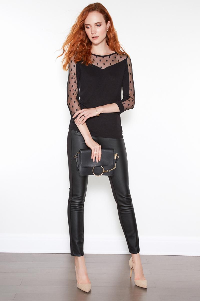 Джемпер женский Concept Club Grace, цвет: черный. 10200100144. Размер L (48)10200100144