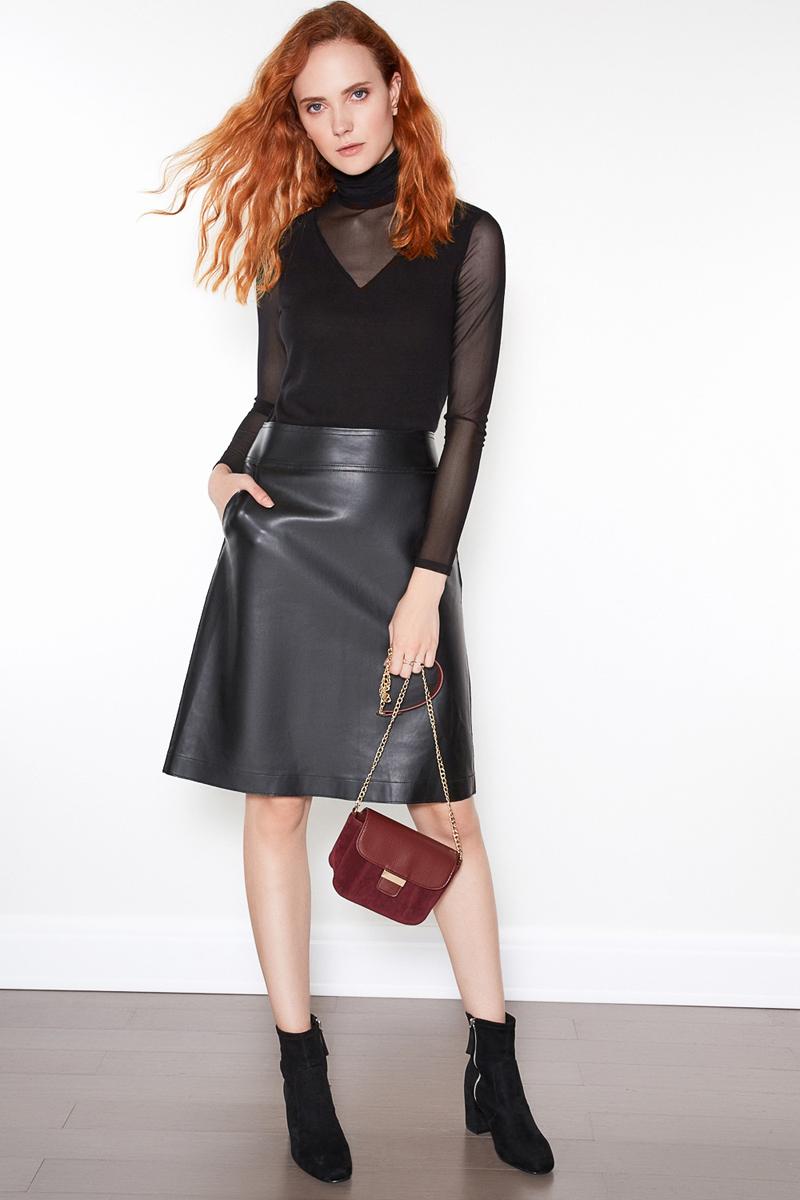 Джемпер женский Concept Club Mesh, цвет: черный. 10200100147. Размер M (46)10200100147