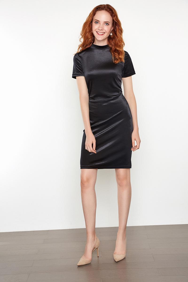 Платье женское Concept Club Barho, цвет: черный. 10200200355. Размер XS (42)10200200355