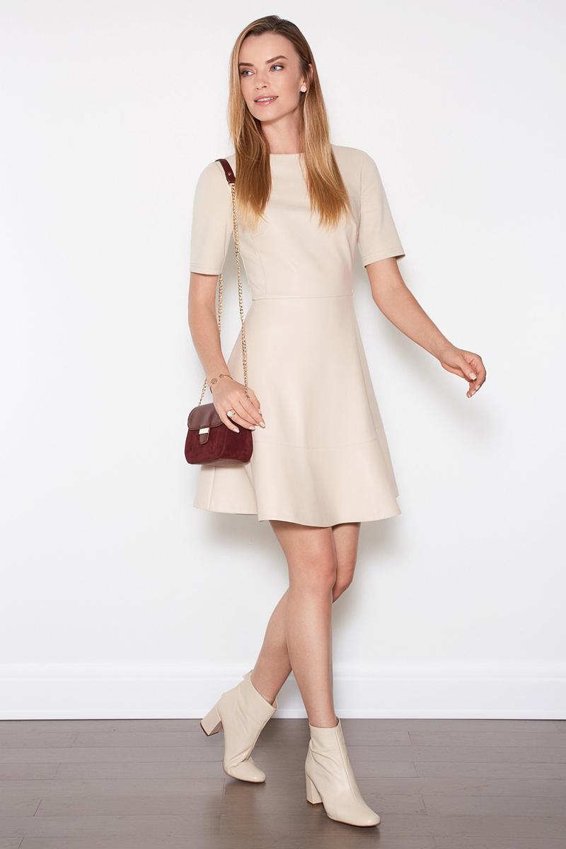 Платье женское Concept Club Damir, цвет: бежевый. 10200200362. Размер XS (42)10200200362