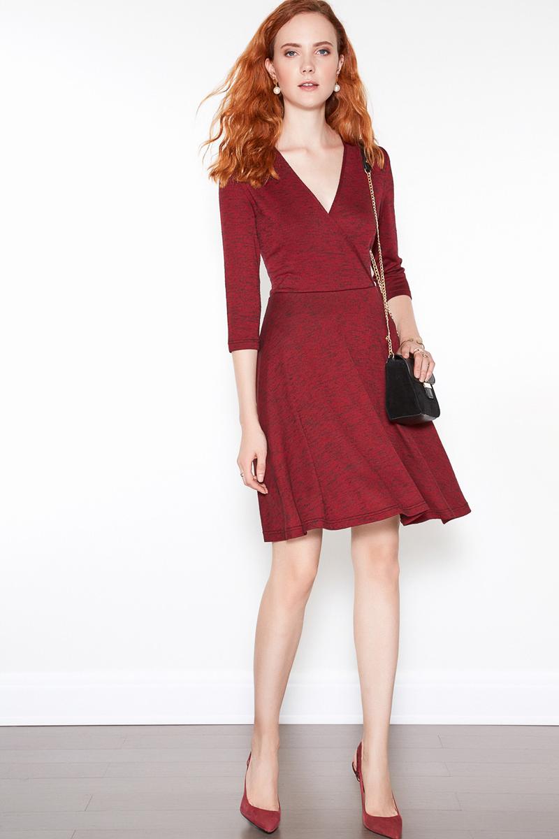 Платье женское Concept Club Sody, цвет: бордовый. 10200200358. Размер M (46) платье женское concept club basy цвет черный 10200200341 размер m 46