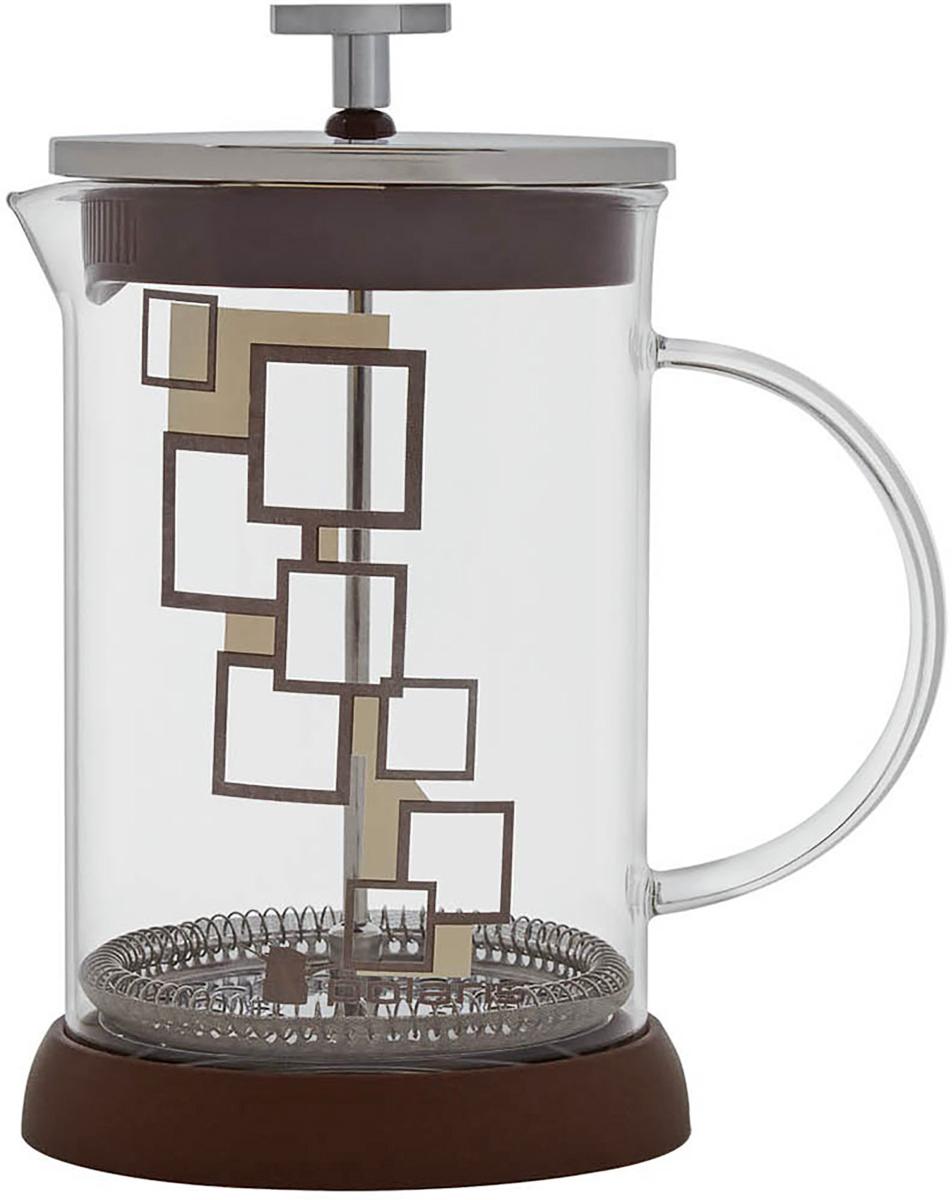 Френч-пресс Polaris Pixel-800FP, 800 млPixel-800FPЭксклюзивный дизайн. Френч-пресс Polaris Pixel подходит для заваривания кофе и чая.Колба изготовлена из жаропрочного стекла. Эргономичный поршень с фильтром выполнен из нержавеющей стали 18/10. Подставка из высококачественного силикона для удобства использования.