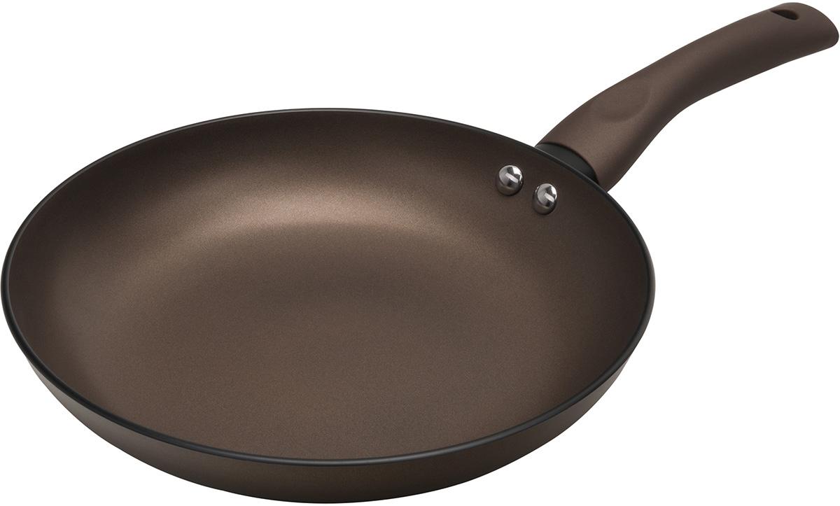Сковорода Polaris Genio, с антипригарным покрытием. Диаметр 28 смGenio-28FСковорода Polaris Genio изготовлена из штампованного алюминия с износостойким антипригарным покрытием Pfluon. Такое покрытие предотвращает пригорание пищи и ее прилипание к стенкам. Оно абсолютно безопасно для здоровья и не выделяет вредных веществ во время готовки.Сковорода оснащена эргономичной ручкой с покрытием soft-touch, которая не нагревается в процессе приготовления пищи и не дает вашим рукам обжечься. Посуда подходит для газовых, электрических и стеклокерамических плит. Не рекомендуется мыть в посудомоечной машине.
