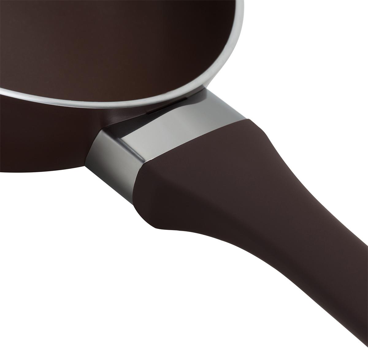 """Сковорода Polaris """"Spring"""" изготовлена из штампованного алюминия с износостойким антипригарным покрытием """"Pfluon"""". Такое покрытие предотвращает пригорание пищи и ее прилипание к стенкам. Оно абсолютно безопасно для здоровья и не выделяет вредных веществ во время готовки.  Сковорода оснащена эргономичной ручкой с покрытием """"soft-touch"""", которая не нагревается в процессе приготовления пищи и не дает вашим рукам обжечься. Посуда подходит для газовых, электрических и стеклокерамических плит. Не рекомендуется мыть в посудомоечной машине."""