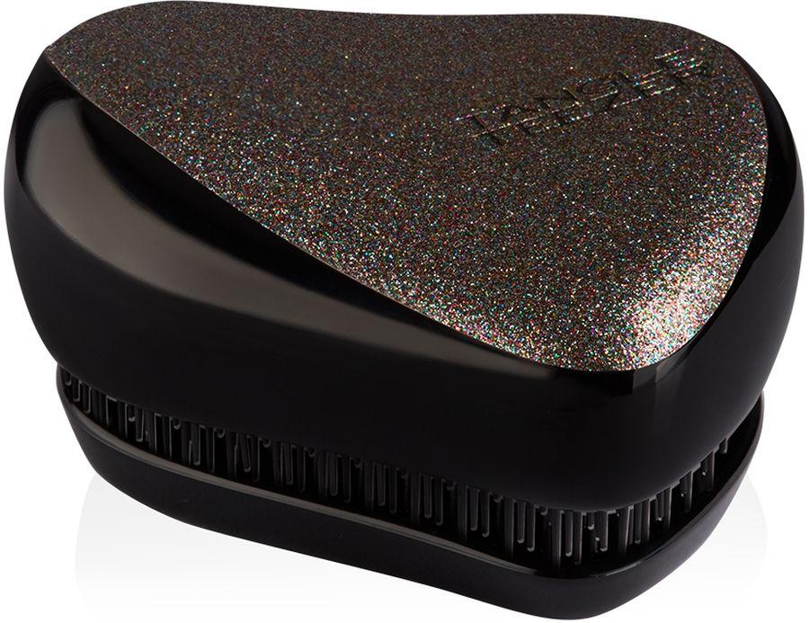 Tangle Teezer Расческа Compact Styler Glitter Gem2102Расческа Tangle Teezer Compact Styler Glitter Gem - уникальная модель с блестками! Расческа будет с вами, где бы вы ни находились! Благодаря компактной форме эта расческа поместится в любую сумочку, а плотно прилегающая крышка защитит расческу от пыли и повреждений. Эргономичная форма позволяет легко расчесывать как сухие, так и влажные волосы. Благодаря уникальному строению зубчиков, расческа мягко скользит по волосам, не повреждая и не травмируя их. После использования расчески волосы приобретают здоровый вид и блеск, становясь гладкими и шелковистыми.