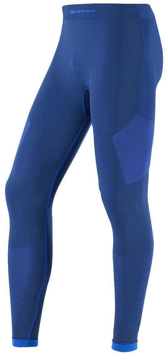 Кальсоны мужские Guahoo, цвет: синий, голубой. G23-1600P/NV/BL. Размер XL/XXL (54/56)G23-1600P/NV/BLЛегкое термобелье для активных видов спорта прилегающего силуэта. Высокая эластичность материала и использование бесшовной технологии обеспечивают комфорт во время движения. Модель многозональна - разделена на функциональные зоны с учетом анатомии тела. Антибактериальная отделка материала позволяет дольше сохранять свежесть и предотвращает появление неприятных запахов.