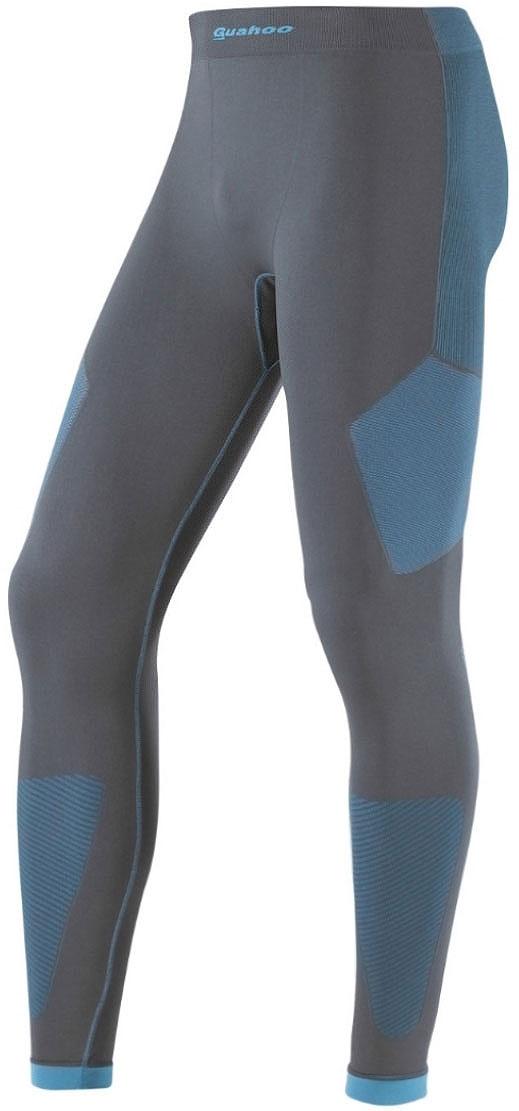 Кальсоны мужские Guahoo, цвет: серый, бирюзовый. G23-1600P/GY/TQ. Размер XL/XXL (54/56)