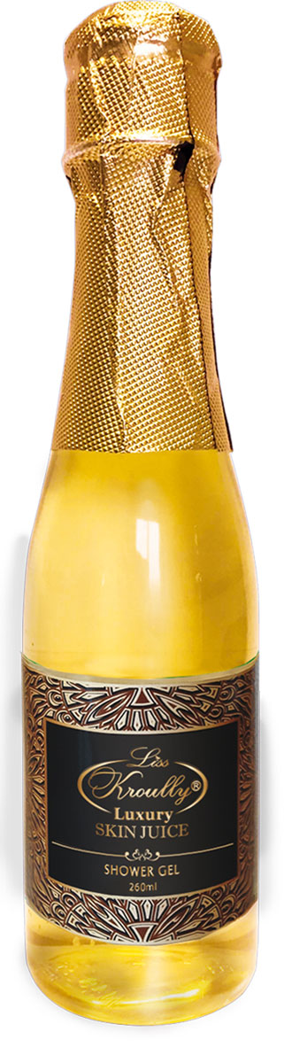 Liss Kroulli Гель для душа Skin Juice Золотое шампанское, ваниль, 260 мл гель для душа nagara молочный whip latte 260 мл