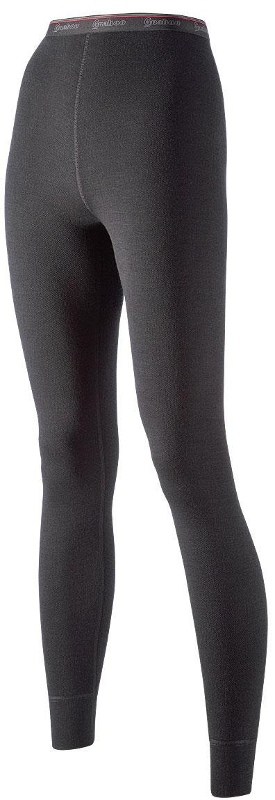 Панталоны женские Guahoo, цвет: черный. 21-0461 P / ВК. Размер 3XL (54)21-0461 P / ВКМодель из двухслойного полотна предназначена для повседневного использования в холодную и очень холодную погоду. Идеальное сочетание различных видов пряжи с добавлением натуральной шерсти во внешнем слое, а также специальное плетение обеспечивают эффективное сохранение тепла. Начес на внутренней стороне полотна хорошо сохраняет тепло за счет воздушной прослойки.