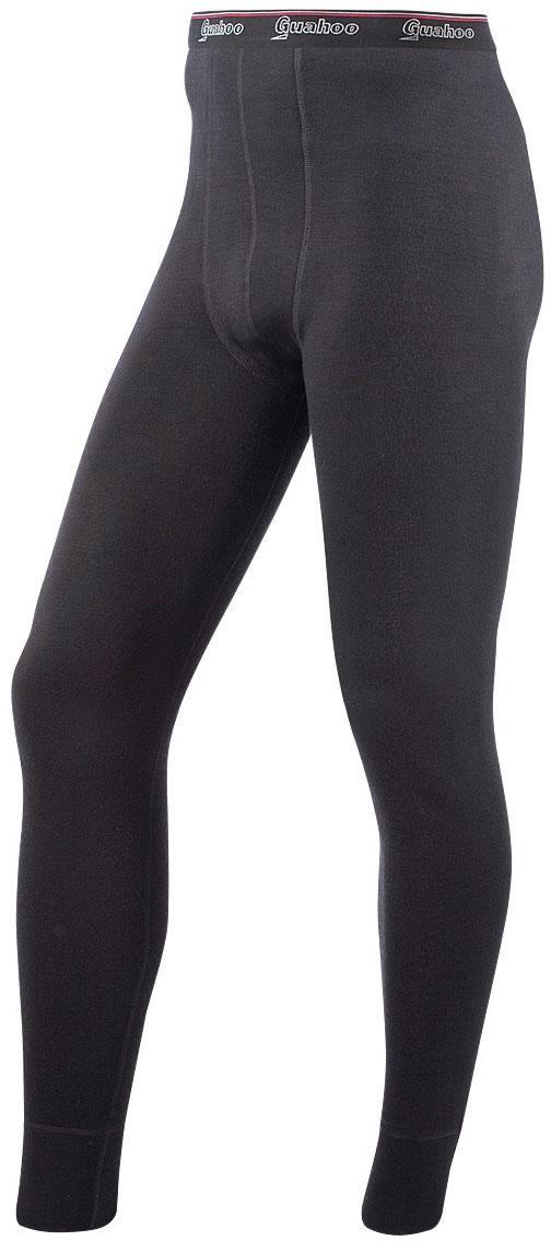 Кальсоны мужские Guahoo, цвет: черный. 21-0460 P / BK. Размер XL (54)21-0460 P / BKМодель из двухслойного полотна предназначена для повседневного использования в холодную и очень холодную погоду. Идеальное сочетание различных видов пряжи с добавлением натуральной шерсти во внешнем слое, а также специальное плетение обеспечивают эффективное сохранение тепла. Начес на внутренней стороне полотна хорошо сохраняет тепло за счет воздушной прослойки.