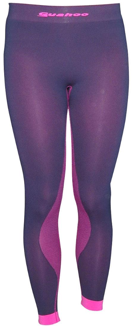 Панталоны женские Guahoo, цвет: темно-синий, розовый. G23-1601P/DNV/PK. Размер XS/S (42/44)G23-1601P/DNV/PKЛегкое термобелье для активных видов спорта прилегающего силуэта. Высокая эластичность материала и использование бесшовной технологии обеспечивают комфорт во время движения. Модель многозональна — разделена на функциональные зоны с учетом анатомии тела. Антибактериальная отделка материала позволяет дольше сохранять свежесть и предотвращает появление неприятных запахов.