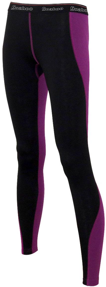 Панталоны женские Guahoo, цвет: черный. G22-9481P/BK-LC. Размер S (44)G22-9481P/BK-LCДвухслойная модель предназначена для повседневной носки в холодную и очень холодную погоду. Внешний слой с высоким содержанием шерсти прекрасно сохраняет тепло, придает мягкость и прочность изделию. Внутренний слой из полипропилена отводит влагу, придает прочность, предотвращает усадку и деформацию изделия. Рекомендуется предварительная стирка перед первым применением белья.