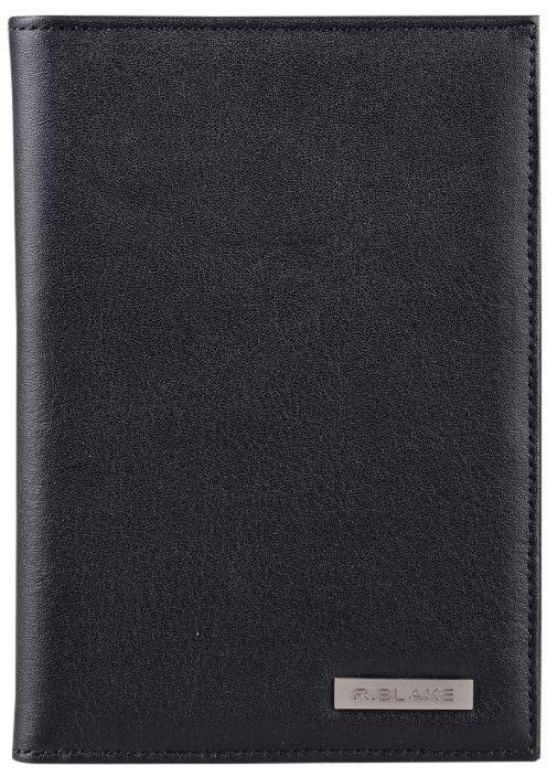 Обложка для паспорта R.Blake Cover, цвет: черный. GCVR00-000000-A0201O-K100GCVR00-000000-A0201O-K100Обложка для паспорта R.Blake Cover изготовлена из качественной натуральной кожи. Внутри -4 прорезных кармана для карт из полуматовой гладкой кожи