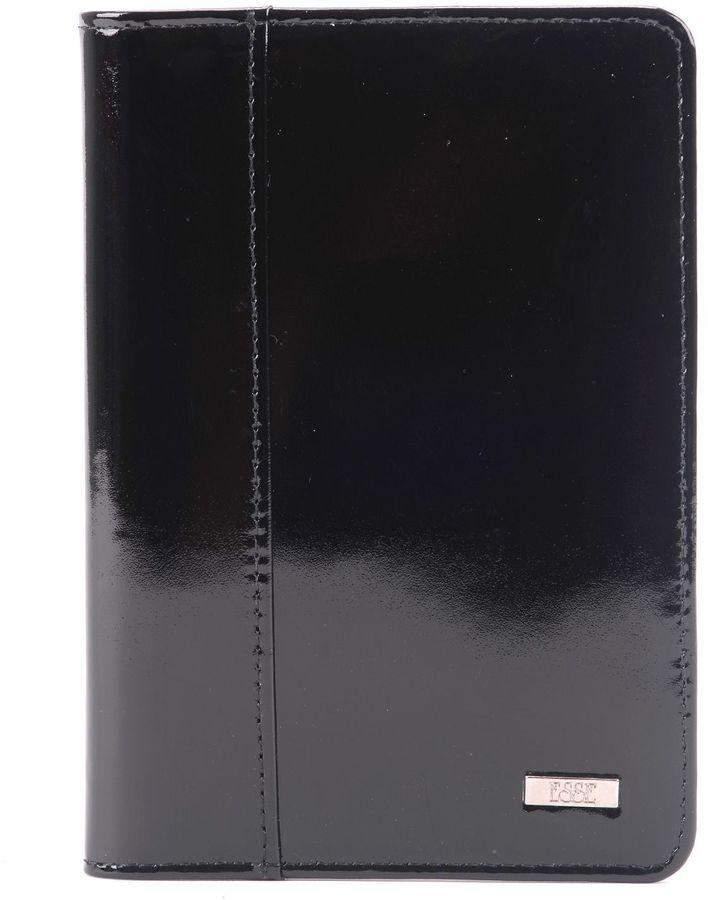 Обложка для автодокументов женская Esse Page, цвет: черный. GPGA00-000000-A0201O-K100GPGA00-000000-A0201O-K100Обложка Esse с закругленными углами изготовлена из натуральной кожи. Внутри 3 прорезных кармана для карт, 2 открытых кожаных кармана. Пластиковый блок из 6 карманов позволяет рационально разместить все необходимые документы.