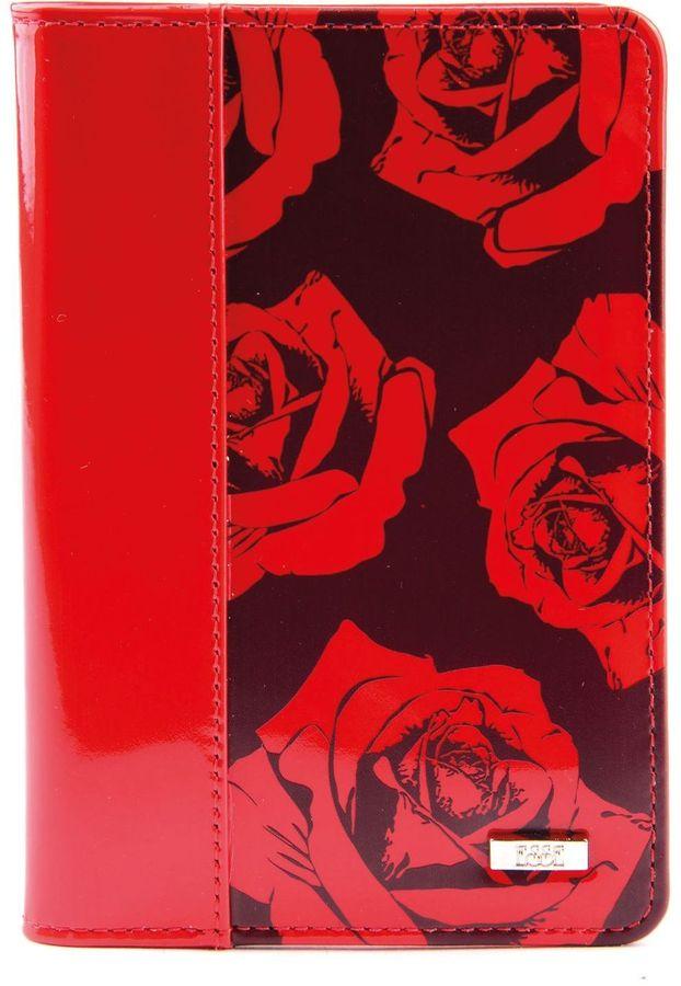Обложка для автодокументов женская Esse Page, цвет: красный. GPGA00-000000-D6604O-K102Натуральная кожаОбложка Esse с закругленными углами изготовлена из натуральной кожи. Внутри 3 прорезныхкармана для карт, 2 открытых кожаных кармана. Пластиковый блок из 6 карманов позволяетрационально разместить все необходимые документы.