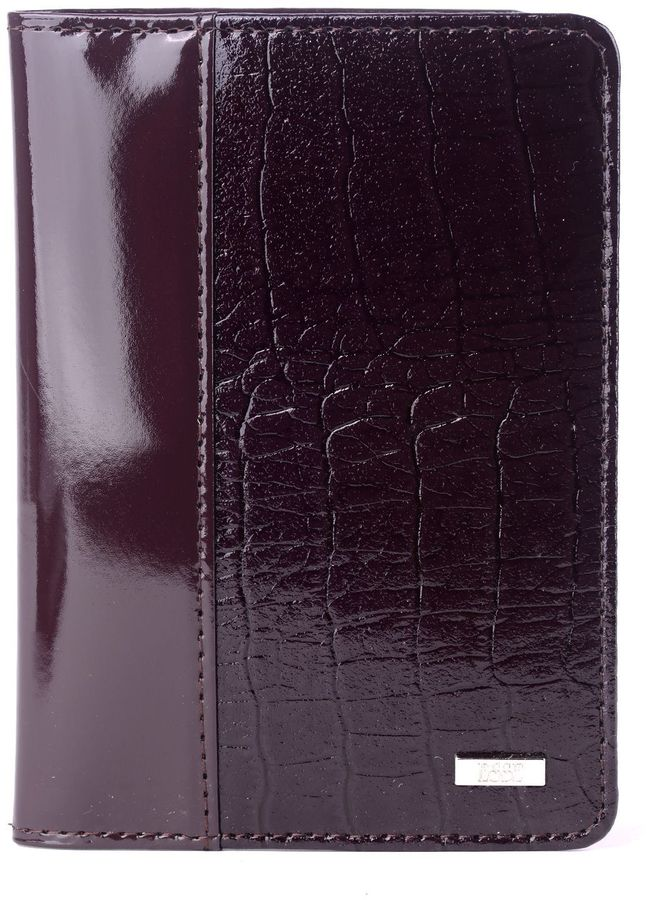 Обложка для паспорта женская Esse Page, цвет: сливовый. GPGE00-000000-FD507T-K100GPGE00-000000-FD507T-K100Обложка для паспорта Esse изготовлена из натуральной кожи и оформлена тиснением под рептилию. Внутри 3 прорезных кармана для карт.