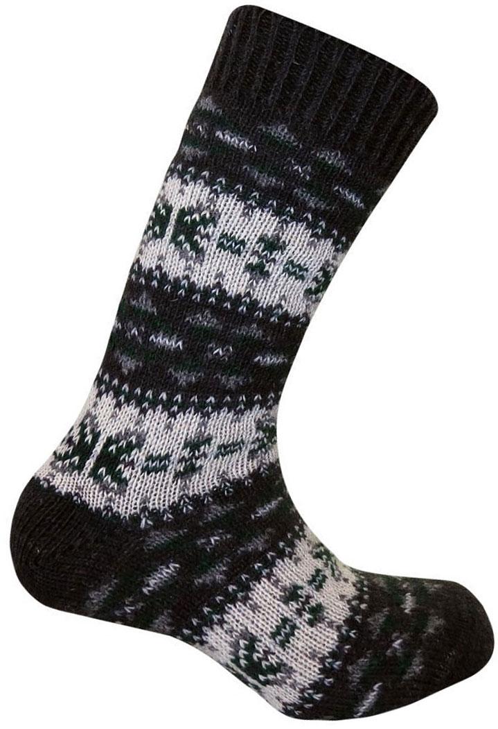 Термоноски Guahoo, цвет: зтемно-зеленый, белый. G52-8103CW/GN. Размер 35/38G52-8103CW/GNВысокие шерстяные носки плотной вязки дополнены широкой комфортной резинкой. Высокое содержание шерсти в составе делает модель оптимальной для длительного ношения в холодную и очень холодную погоду, полиамид позволяет сохранить ноги сухими даже при средних физических нагрузках, а эластан увеличивает износостойкость изделия. Уютные носки с ретро-узорами могут стать теплым подарком родным и близким.