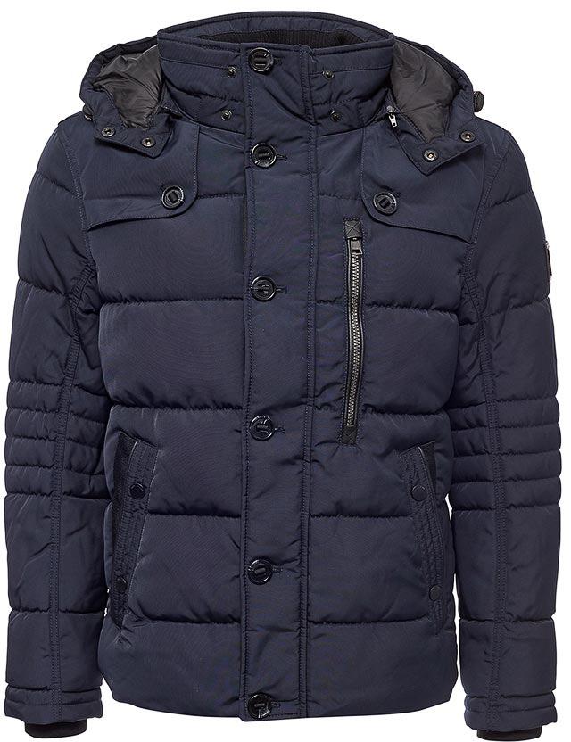Куртка мужская Tom Tailor, цвет: синий. 3533491.01.10_6800. Размер L (50)3533491.01.10_6800