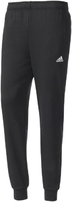 Брюки спортивные мужские adidas Ess T PNT, цвет: черный. BK7433. Размер XL (56/58)BK7433Брюки спортивные мужские Adidas Essentials выполнены из хлопка и полиэстера. Чувствуйте себя, комфортно отдыхая после тяжелой тренировки или насыщенного дня в этих спортивных брюках, дарящих комфорт и уют своему обладателю. Зауженный к низу крой имеет манжеты, выполненные из ткани в рубчик плотно прилегающие к телу. Фиксируются на талии за счёт эластичного пояса, обеспечивая оптимальную посадку. Два вшитых кармана для рук. Эмблема бренда слева на бедре.