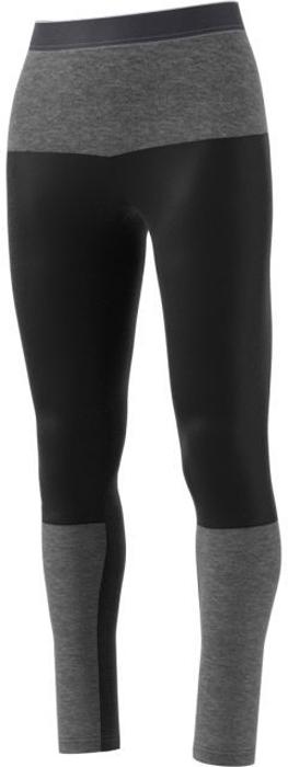 Тайтсы женские adidas Xpr Tights W, цвет: черный, серый. BP8990. Размер 40 (46/48)BP8990Женские тайтсы, выполненные из очень дышащего материала. Технология ClimaWarm сохранит тело в сухости и сохранит тепло во время тренировок. Эластичный материал обеспечит свободу передвижения.