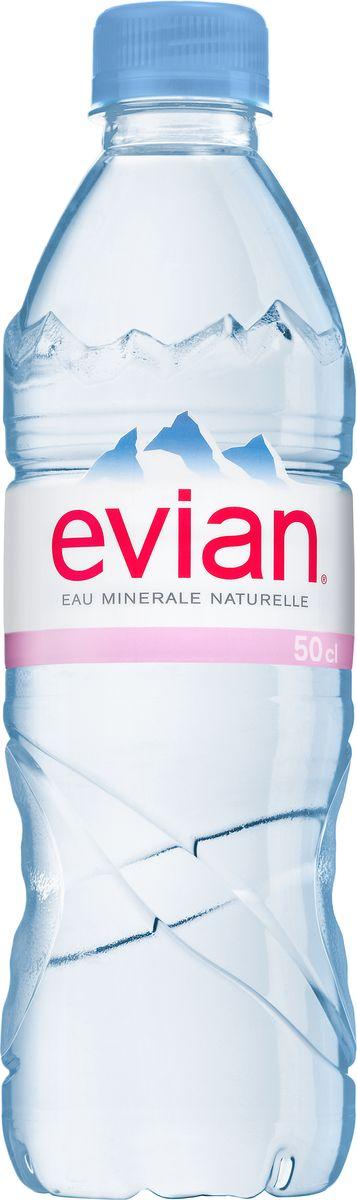 Evian вода минеральная природная столовая негазированная,0,5 л340023601Evian - природная минеральная вода. Уникальный минеральный состав природной воды Evian способствует поддержанию водного баланса в органихме. Формат 0,5л удобно взять собой на прогулку в парк или автомобиль.О бренде:Источник Evian находится на бережно охраняемой территории, в самом сердце французских Альп. В процессе естественной фильтрации горными породами в течение 15 лет природная минеральная вода Evian приобретает уникальный сбалансированный минеральный состав и, непосредственно у источника, разливается в бутылки.