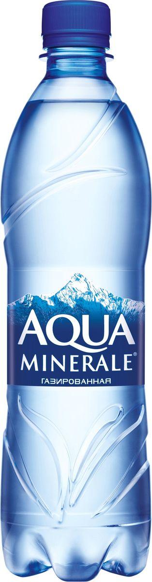 Aqua Minerale вода газированная питьевая, 0,6 л бжни вода газированная 1 л