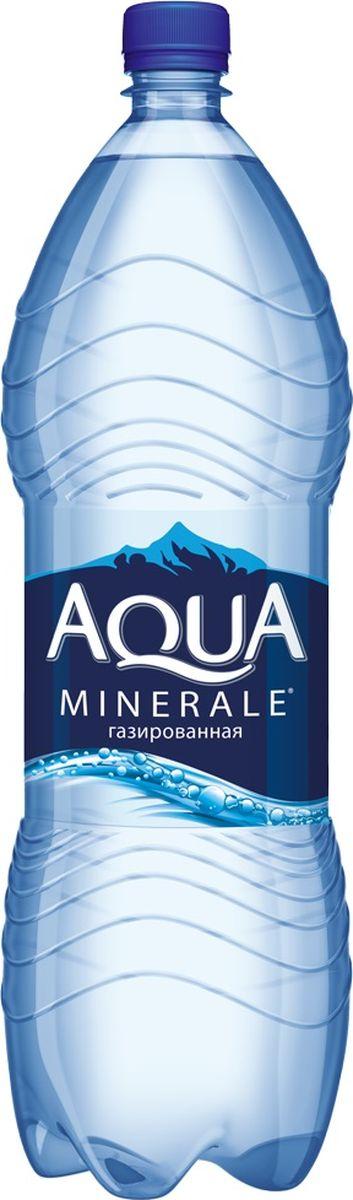 Aqua Minerale вода газированная питьевая, 2 л aqua minerale вода питьевая негазированная 6 штук по 2 л