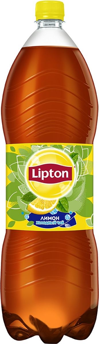 Lipton Ice Tea Лимон холодный чай, 2 л lipton липтон чай черный чай теплый чай мешок 100г 50