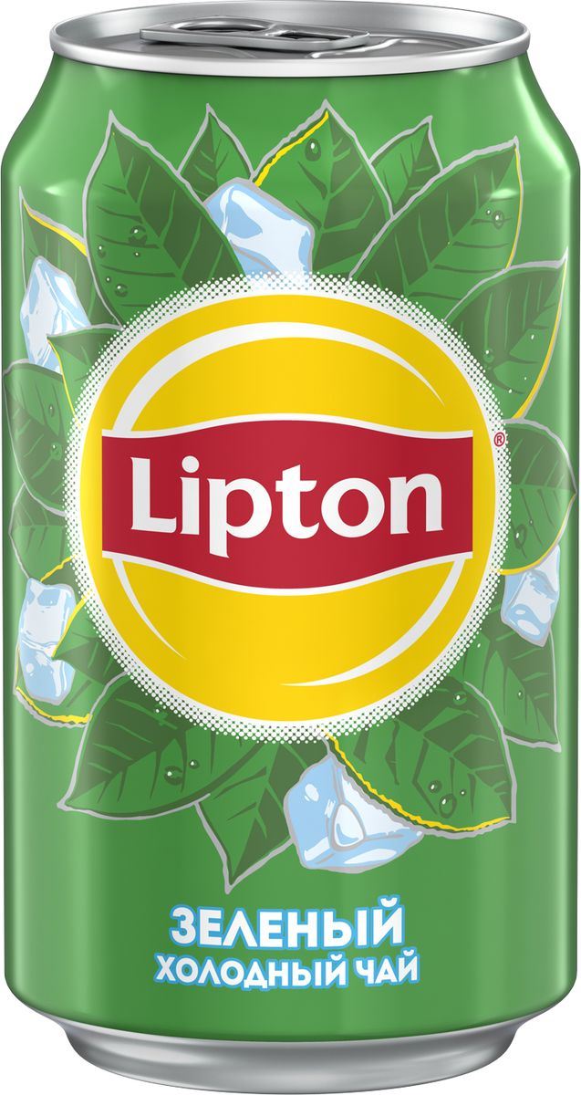 Lipton Ice Tea Зеленый холодный чай, 0,33 л lipton ice tea лайм мята холодный чай 1 5 л
