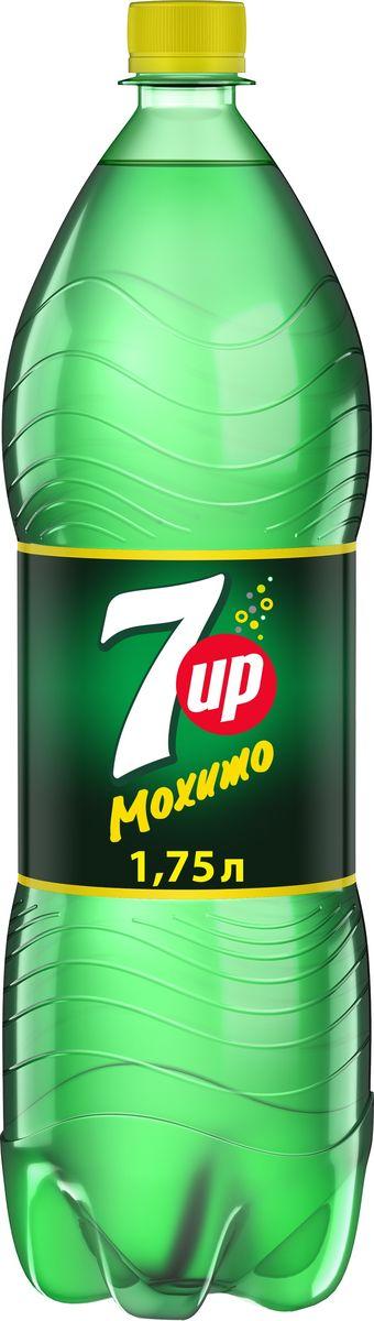 7-UP Лайм-Мята напиток сильногазированный, 1,75 л340015910Прозрачный напиток со вкусом лайма и мяты.О бренде:7UP - торговая марка газированного напитка со вкусом лимона и лайма, не содержащего кофеина. В 1934 году напиток стал безалкогольным, перед тем, как он стал безалкогольным, в напиток добавлялась небольшая доза алкоголя.