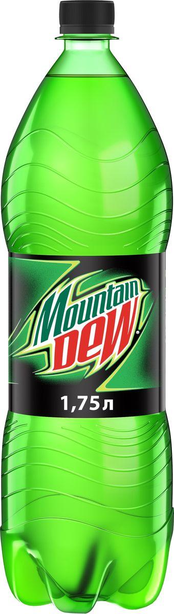 Mountain Dew Цитрус напиток сильногазированный, 1,75 л fanta цитрус напиток сильногазированный 1 5 л
