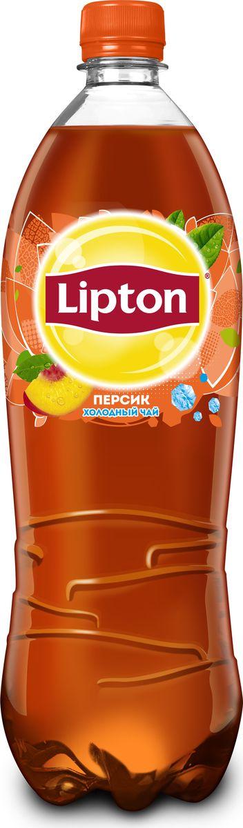Lipton Ice Tea Персик холодный чай, 1 л lipton ice tea лайм мята холодный чай 1 5 л
