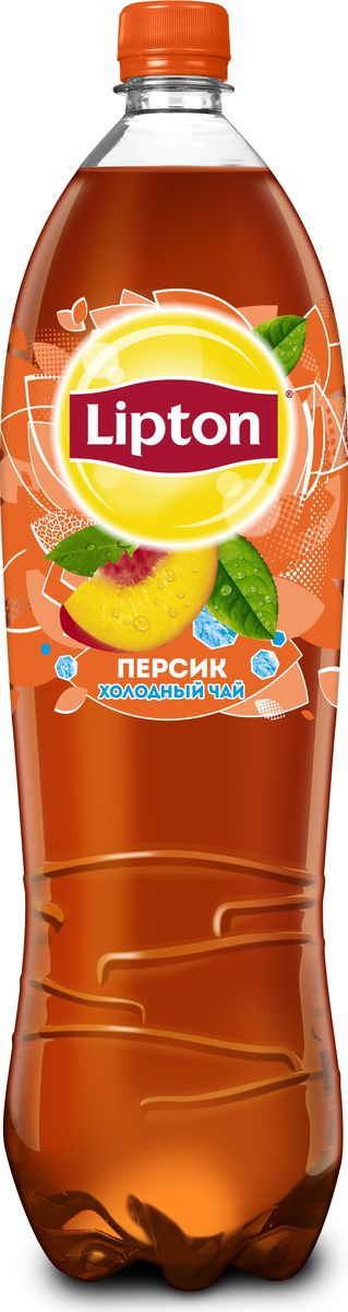 Lipton Ice Tea Персик холодный чай, 1,5 л lipton липтон чай черный чай теплый чай мешок 100г 50