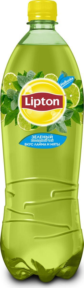 Lipton Ice Tea Лайм-Мята холодный чай, 1 л lipton ice tea лайм мята холодный чай 1 5 л