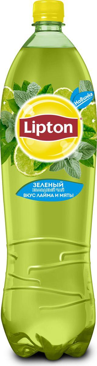 Lipton Ice Tea Лайм-Мята холодный чай, 1,5 л lipton липтон чай черный чай теплый чай мешок 100г 50