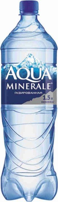 Aqua Minerale вода газированная питьевая, 1,5 л вода aqua minerale с газом 0 6 л 12шт