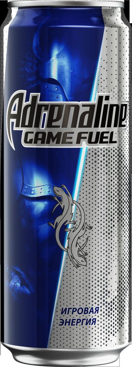 Adrenaline Game Fuel энергетический напиток, 0,5 л, Adrenalin Rush