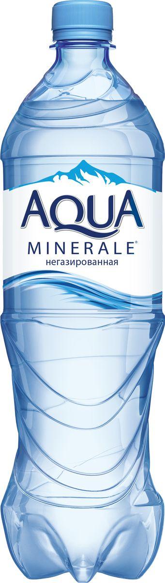 Aqua Minerale вода питьевая негазированная, 1 л вода aqua minerale с газом 0 6 л 12шт