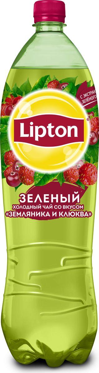 Lipton Ice Tea Земляника-Клюква холодный чай, 1,5 л каша безмолочная heinz многозерновая из 5 злаков с 6 мес 200 г