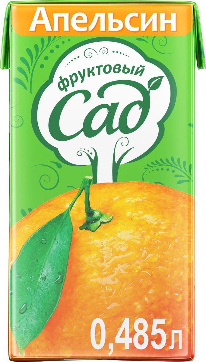 Фруктовый Сад Апельсин нектар с мякотью 0,485 л340024725Яркий ароматный вкус спелых, сладких и сочных апельсинов! О бренде:Фруктовый сад - один из крупнейших производителей соков и нектаров на российском рынке. Ассортимент бренда представлен большим разнообразием вкусов, которые нравятся взрослым и детям. Выберите свой вкус для всей семьи!