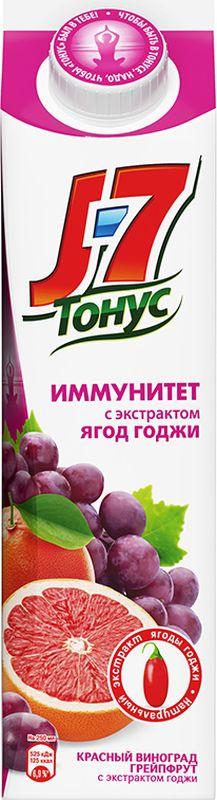 J-7 Тонус Грейпфрут-Виноград-Годжи нектар с мякотью 0,9 л годжи ягоды молотые 100гр organic