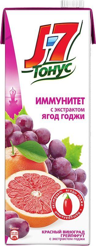 J-7 Тонус Грейпфрут-Виноград-Годжи нектар с мякотью 1,45 л рюкзак с полной запечаткой printio цветы тропиков