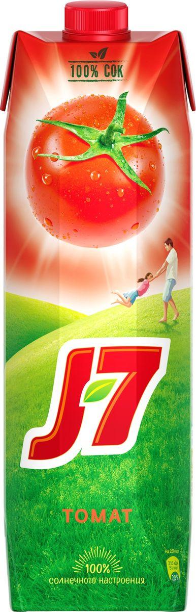 J-7 Томат с солью сок с мякотью, 0,97 л340028831/340031798Чтобы в вашем доме всегда звучал смех и царило хорошее настроение, найдите в нем место для J7. Сочные томаты зарядились позитивной энергией солнца, чтобы потом отдать ее до последней капли.О бренде:J7 - первый бренд пакетированного сока, появившийся на российском рынке в 1994 г. Основная линейка 100% соков и нектаров J7 состоит из 12 вкусов, каждый из которых сохраняет неповторимый вкус солнечных фруктов.