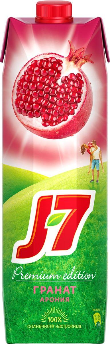 J-7 Гранат-Черноплодная рябина нектар осветленный 0,97 л придворный первый маляр л каравак