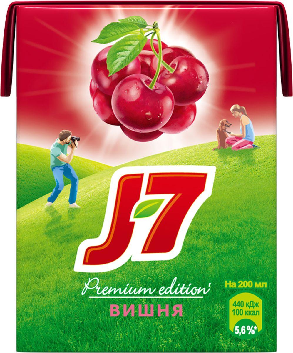 J-7 Вишня нектар осветленный 0,2 л