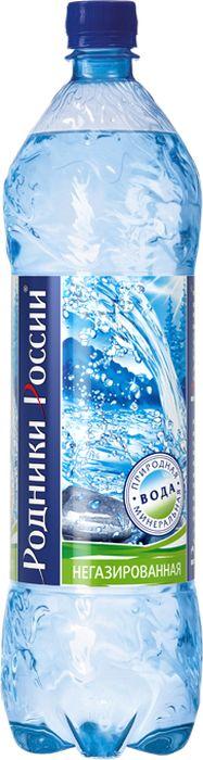 Родники России вода минеральная природная столовая негазированная, 1,5 л zagori вода природная минеральная столовая негазированная 12 шт по 1 л