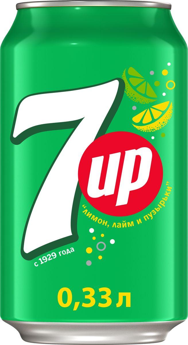 7-UP Лимон-Лайм напиток сильногазированный, 0,33 л340007984Прозрачный напиток со вкусом лимона и лайма.Без красителей.Без искусственных ароматизаторов.О бренде:7UP - торговая марка газированного напитка со вкусом лимона и лайма, не содержащего кофеина. В 1934 году напиток стал безалкогольным,