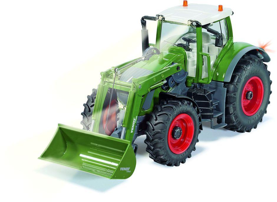 Siku Трактор Fendt 939 Vario с фронтальным погрузчиком на радиоупревлении 6778 siku трактор fendt 939 с прицепом и бревнами